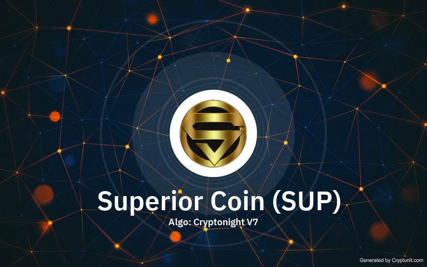 Superior Coin price SUP history