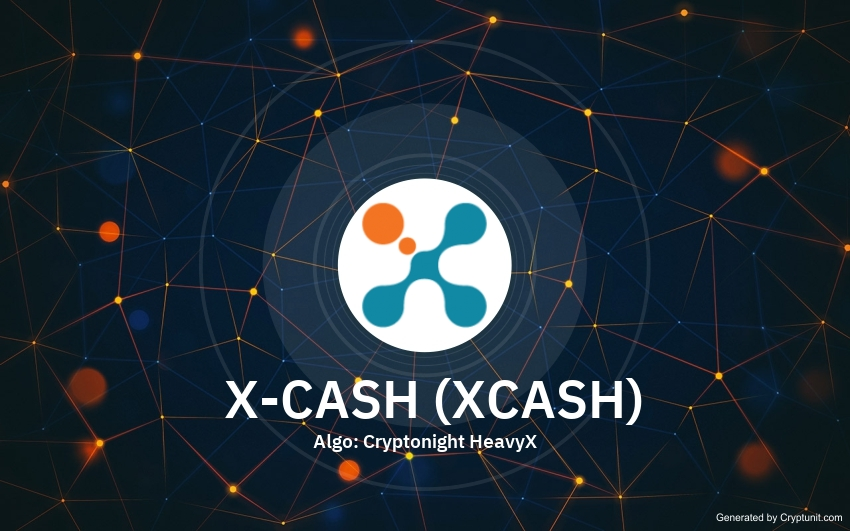 X-CASH price XCASH history