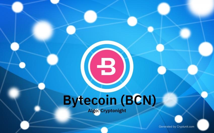 Bytecoin (BCN) idézet