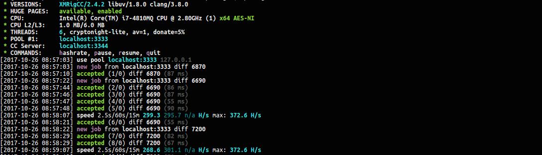 XMRigCC CPU   Cryptunit